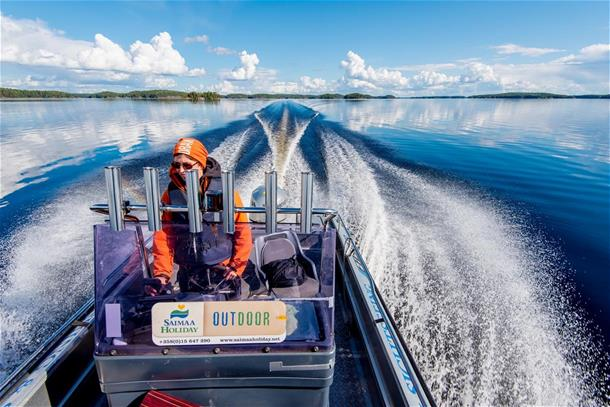 Boat Service to Linnansaari National Park